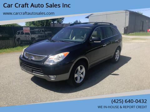 2011 Hyundai Veracruz for sale at Car Craft Auto Sales Inc in Lynnwood WA