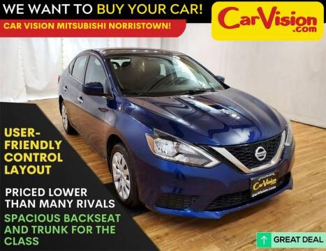 2018 Nissan Sentra for sale at Car Vision Mitsubishi Norristown in Trooper PA