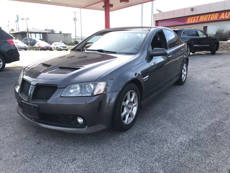 2009 Pontiac G8 for sale at Best Motor Auto Sales in Geneva OH