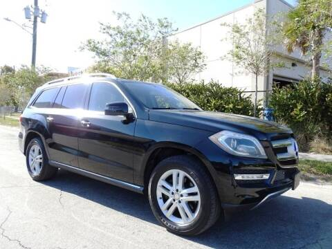 2014 Mercedes-Benz GL-Class for sale at SUPER DEAL MOTORS in Hollywood FL