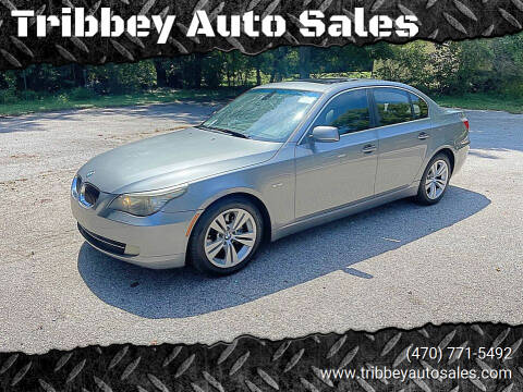 2009 BMW 5 Series for sale at Tribbey Auto Sales in Stockbridge GA