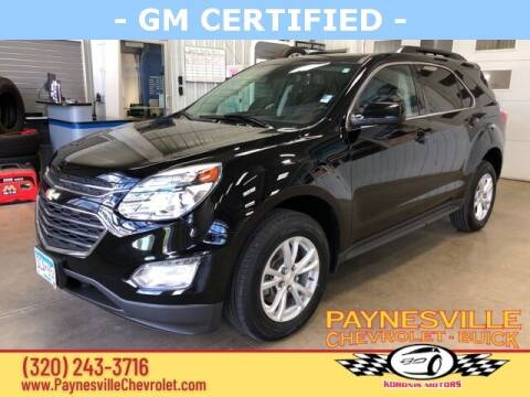 2017 Chevrolet Equinox for sale at Paynesville Chevrolet Buick in Paynesville MN