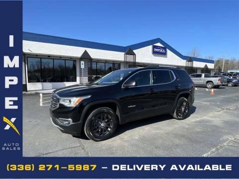 2019 GMC Acadia for sale at Impex Auto Sales in Greensboro NC