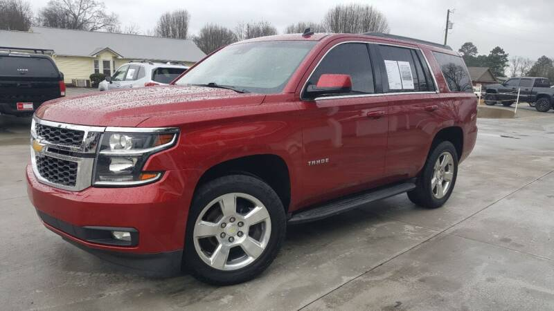 2015 Chevrolet Tahoe for sale at Crossroads Auto Sales LLC in Rossville GA