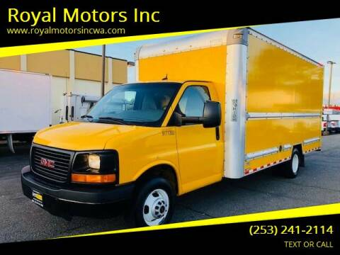 2015 GMC Savana Cutaway for sale at Royal Motors Inc in Kent WA