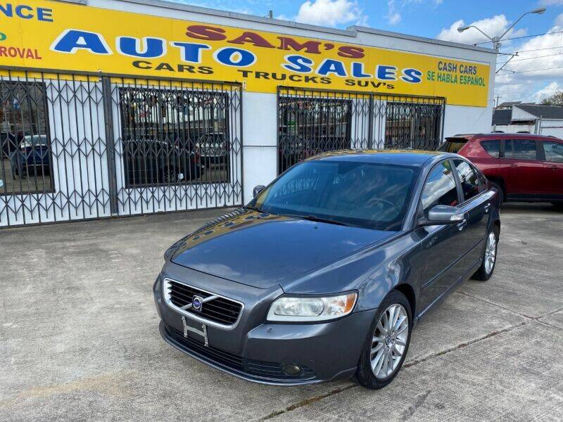 2010 Volvo S40 for sale at Sam's Auto Sales in Houston TX