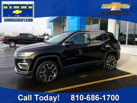 2018 Jeep Compass for sale at Aaron Adams @ Simms Chevrolet in Clio MI