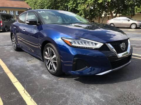 2020 Nissan Maxima for sale at LKG Auto Sales Inc in Miami FL