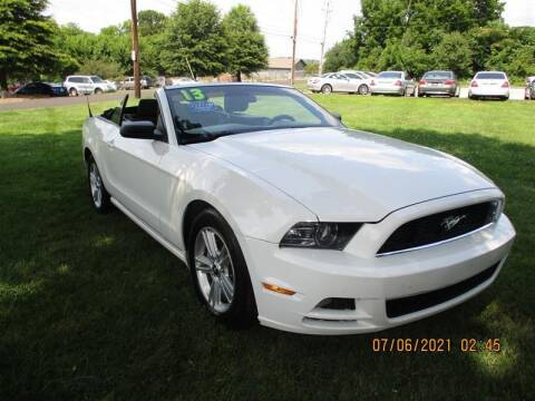 2013 Ford Mustang for sale at Euro Asian Cars in Knoxville TN