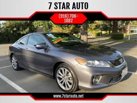 2014 Honda Accord for sale at 7 STAR AUTO in Sacramento CA