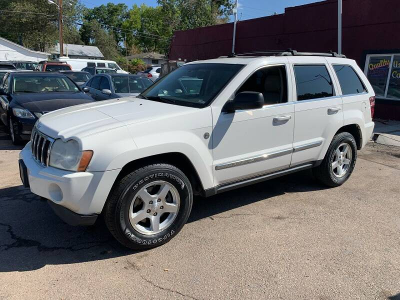 2005 Jeep Grand Cherokee for sale at B Quality Auto Check in Englewood CO