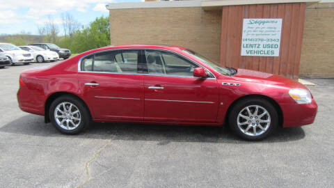 2006 Buick Lucerne for sale at LENTZ USED VEHICLES INC in Waldo WI