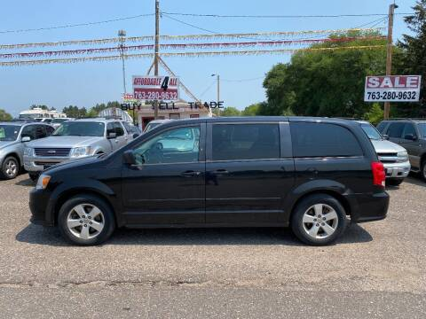 2013 Dodge Grand Caravan for sale at Affordable 4 All Auto Sales in Elk River MN