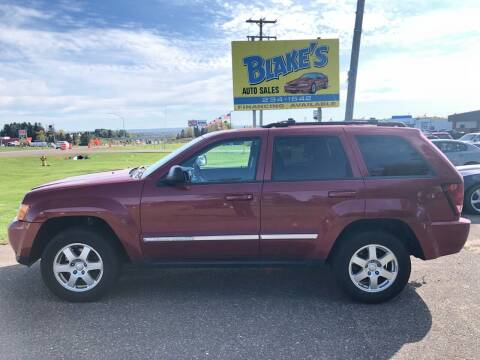 2010 Jeep Grand Cherokee for sale at Blakes Auto Sales in Rice Lake WI
