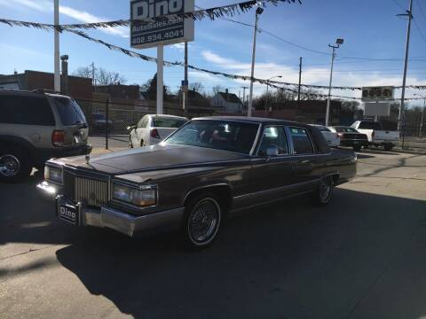 1990 Cadillac Brougham for sale at Dino Auto Sales in Omaha NE