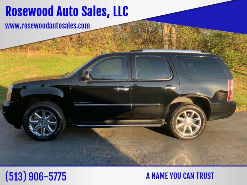 2009 GMC Yukon for sale at Rosewood Auto Sales, LLC in Hamilton OH
