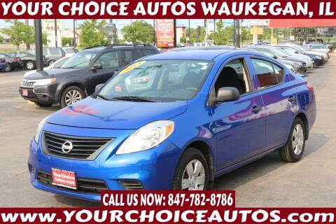 2014 Nissan Versa for sale at Your Choice Autos - Waukegan in Waukegan IL