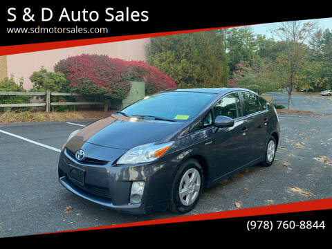 2010 Toyota Prius for sale at S & D Auto Sales in Maynard MA
