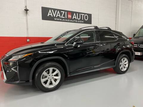 2016 Lexus RX 350 for sale at AVAZI AUTO GROUP LLC in Gaithersburg MD