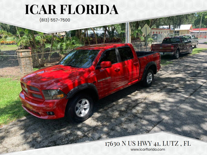 2011 RAM Ram Pickup 1500 for sale at ICar Florida in Lutz FL