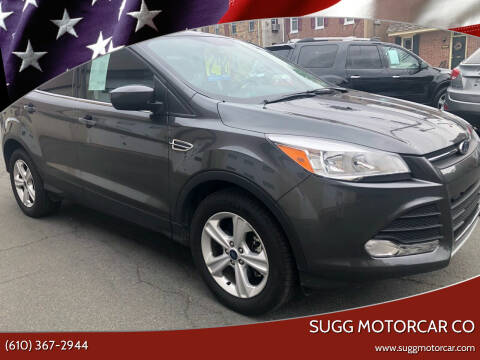 2016 Ford Escape for sale at Sugg Motorcar Co in Boyertown PA