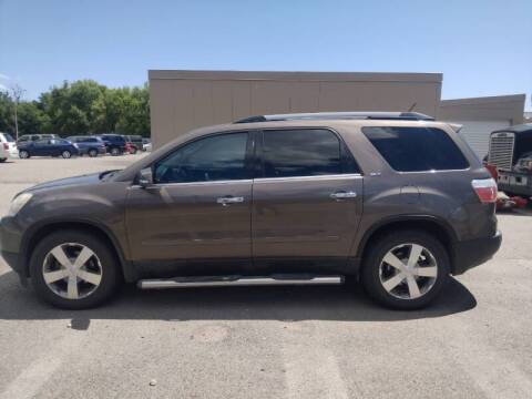 2011 GMC Acadia for sale at Berry's Cherries Auto in Billings MT
