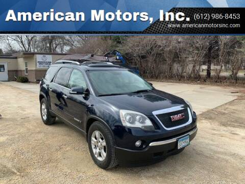 2007 GMC Acadia for sale at American Motors, Inc. in Farmington MN