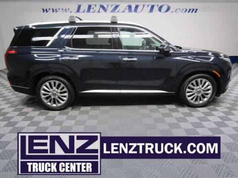 2020 Hyundai Palisade for sale at LENZ TRUCK CENTER in Fond Du Lac WI
