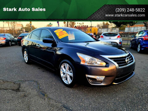 2013 Nissan Altima for sale at Stark Auto Sales in Modesto CA