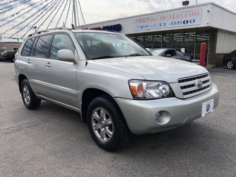2007 Toyota Highlander for sale at I-80 Auto Sales in Hazel Crest IL