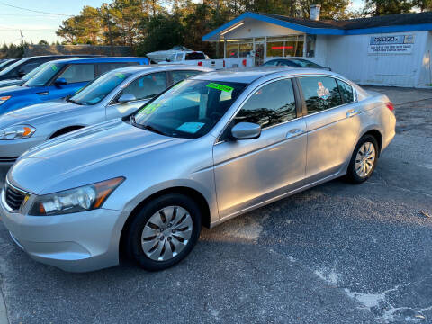 2010 Honda Accord for sale at TOP OF THE LINE AUTO SALES in Fayetteville NC