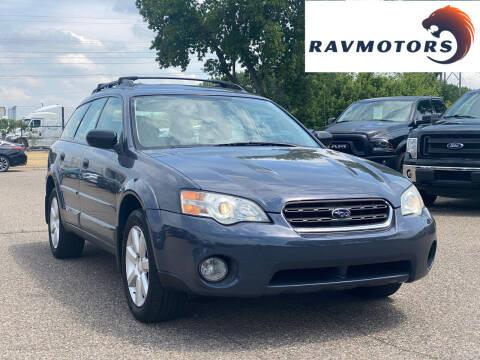 2006 Subaru Outback for sale at RAVMOTORS in Burnsville MN