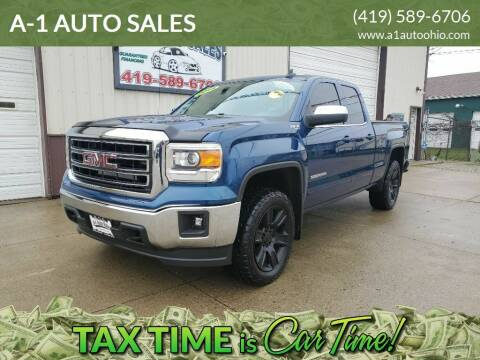 2015 GMC Sierra 1500 for sale at A-1 AUTO SALES in Mansfield OH