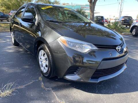 2015 Toyota Corolla for sale at Palm Bay Motors in Palm Bay FL