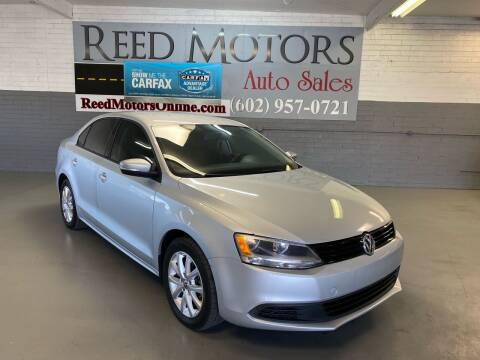 2011 Volkswagen Jetta for sale at REED MOTORS LLC in Phoenix AZ