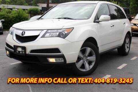 2011 Acura MDX for sale at Five Brothers Auto Sales in Roswell GA
