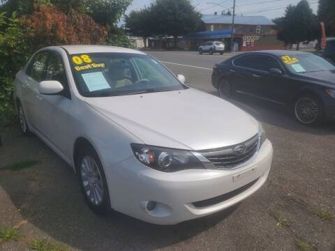 2008 Subaru Impreza for sale at Payless Car & Truck Sales in Mount Vernon WA