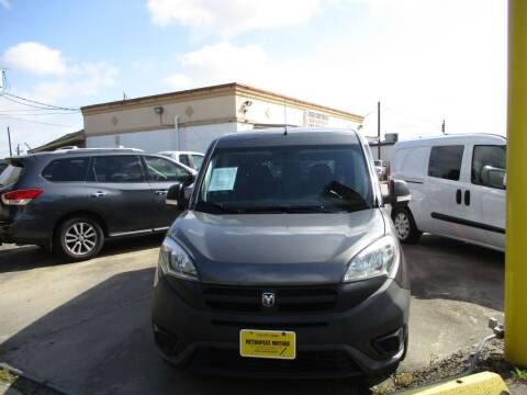 2015 RAM ProMaster City Wagon for sale at Metroplex Motors Inc. in Houston TX