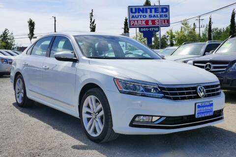 2017 Volkswagen Passat for sale at United Auto Sales in Anchorage AK