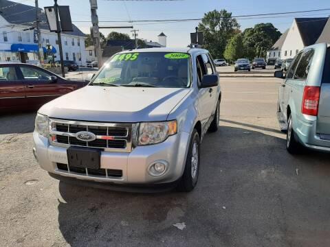2009 Ford Escape for sale at TC Auto Repair and Sales Inc in Abington MA