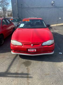 2002 Chevrolet Monte Carlo for sale at Rod's Automotive in Cincinnati OH