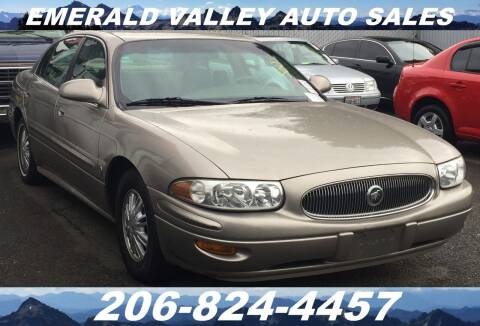 2003 Buick LeSabre for sale at Emerald Valley Auto Sales in Des Moines WA