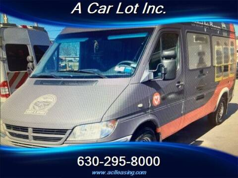 2004 Dodge Sprinter Passenger for sale at A Car Lot Inc. in Addison IL