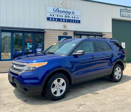 2014 Ford Explorer for sale at Danny's Auto Deals in Grafton WI