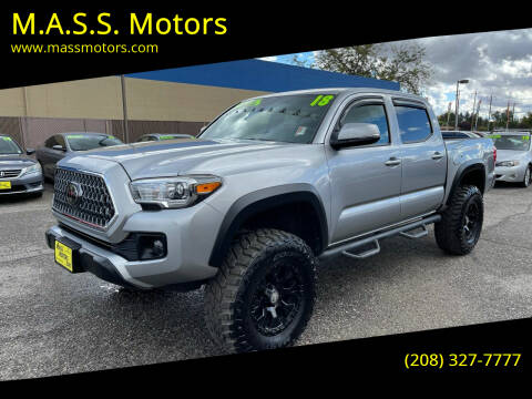 2018 Toyota Tacoma for sale at M.A.S.S. Motors - MASS MOTORS in Boise ID