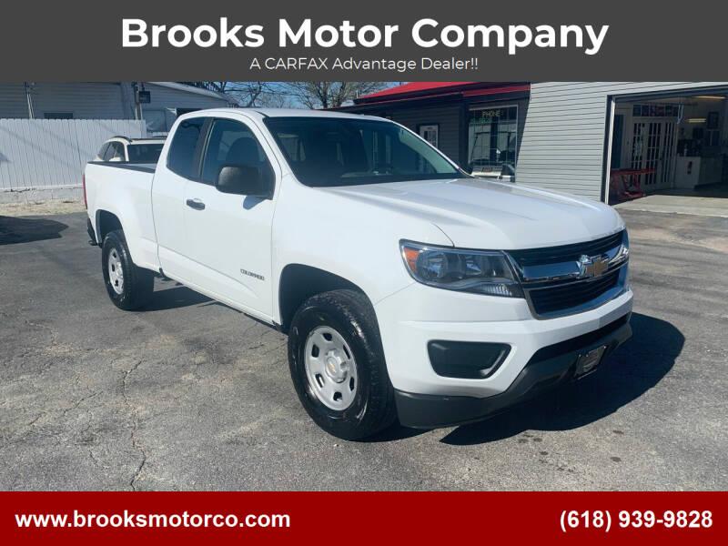 2018 Chevrolet Colorado for sale at Brooks Motor Company in Columbia IL