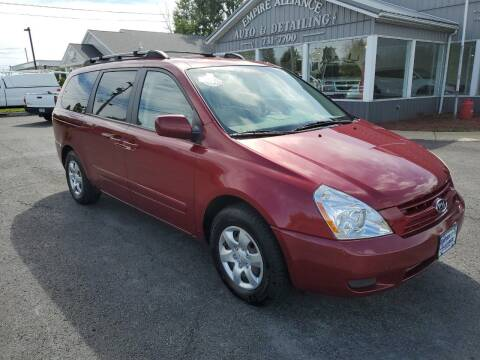 2008 Kia Sedona for sale at Empire Alliance Inc. in West Coxsackie NY