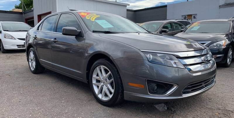 2012 Ford Fusion for sale at Sanaa Auto Sales LLC in Denver CO