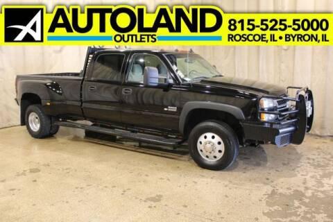 2007 Chevrolet Silverado 3500 Classic for sale at AutoLand Outlets Inc in Roscoe IL