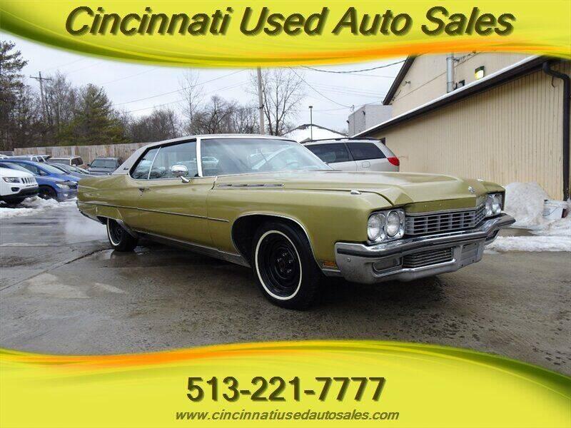 1972 Buick Electra for sale at Cincinnati Used Auto Sales in Cincinnati OH